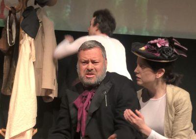 Camille Claudel confronts Rodin