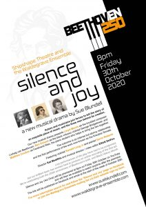 Beethoven Silence and Joy Poster