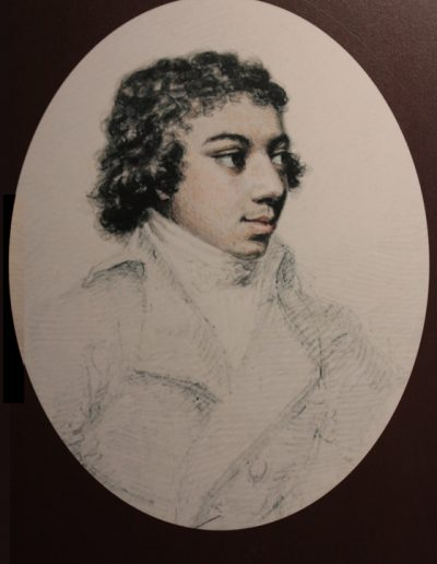 George Bridgetower, by Henry Edridge 1790